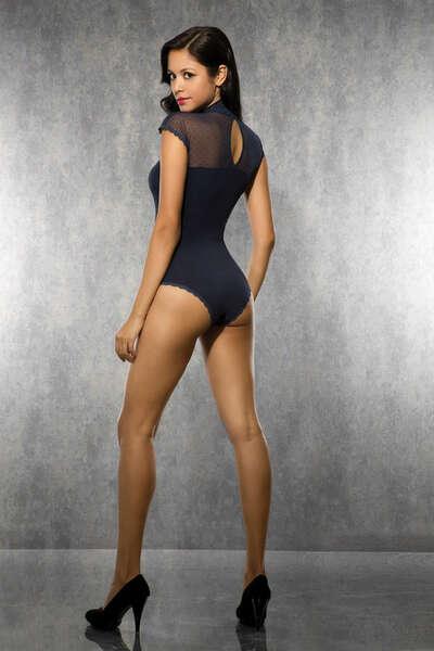 Doreanse - Alttan Çıtçıtlı Avangard Body Suit (1)