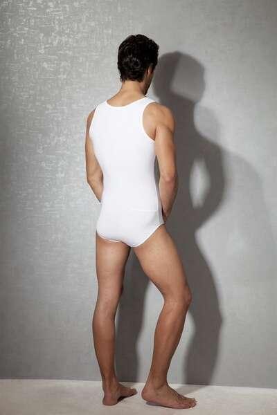 Doreanse - Erkek Önden Düğmeli Bodysuit (1)