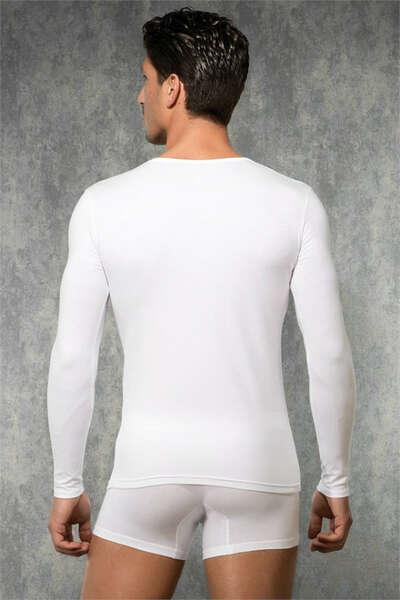 Doreanse - Erkek Uzun Kollu V Yaka Termal T-Shirt (1)