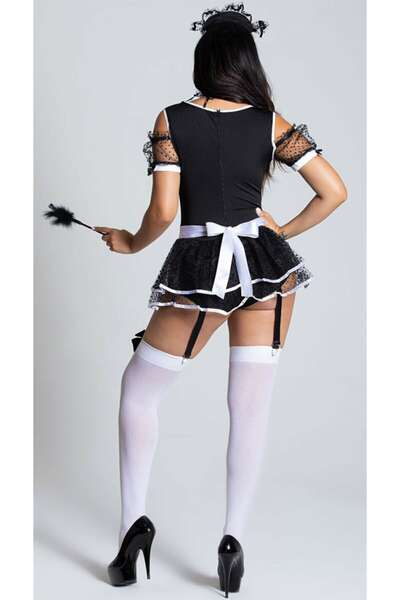 For Dreams - Fantezi Hizmetçi Kız Kostümü (1)