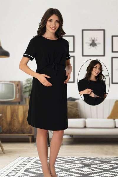 Effortt - Hamile Lohusa Emzirme Özellikli Elbise (1)