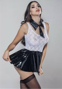 Moonlight - Seksi Dantelli Sekreter Kostümü (1)