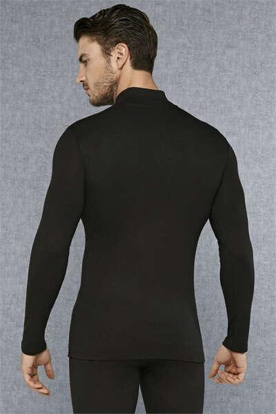 Doreanse - Yakası Fermuarlı Erkek Termal T-Shirt (1)