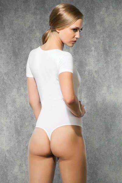 Doreanse - Kısa Kol String Body Suit (1)
