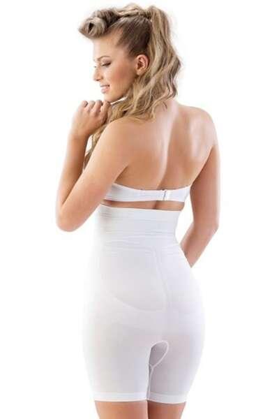 Emay - Yüksek Bel Desenli Kadın Boxer Korse (1)